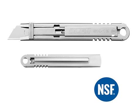 OLFA SK-12 Emniyetli Paslanmaz Maket Bıçağı (Gıda Bıçağı)