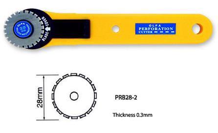 OLFA PRC-3 Daire Perforeli Kesim Bıçak