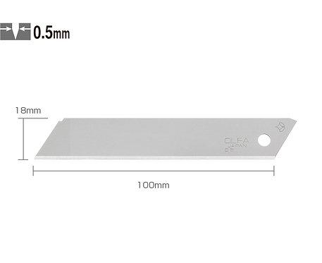 OLFA LSOL-10 Kırımsız Geniş Maket Bıçağı Ucu