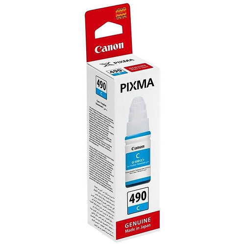Canon GI-490 C Mavi Mürekkep Kartuş