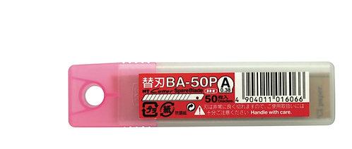 NT CUTTER BA-50P Dar Maket Bıçağı Yedeği 50'li Tüp