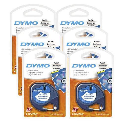 Dymo Letratag Plastik Etiket Şerit