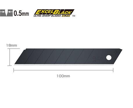 OLFA LBB-50 Geniş Maket Bıçağı Yedeği Siyah