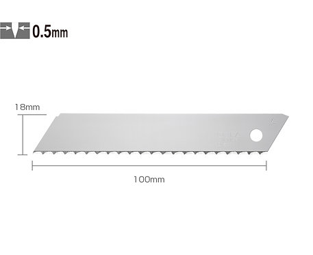 OLFA LWB-3B Elastik Maket Bıçağı Yedeği