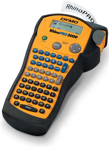 DYMO Rhino PRO 5000 Çantalı Profesyonel Etiket Makinesi