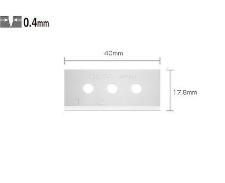 OLFA SKB-10/10B Emniyetli Maket Bıçağı Yedeği