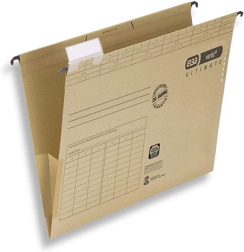 ELBA Askılı Dosya Körüklü Chic Ultimate Telli 85443 (25'li)