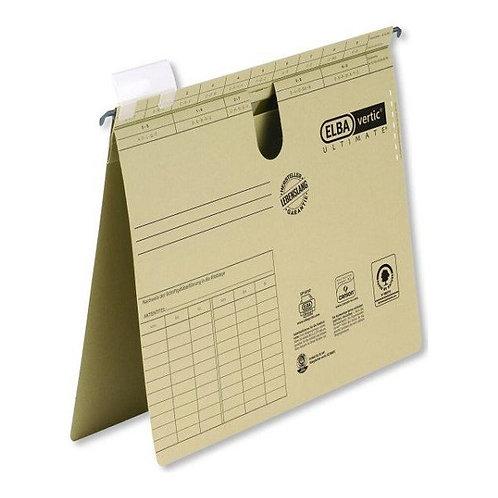 ELBA Askılı Dosya Chic Kraft Telli 52072 (50'li Paket)