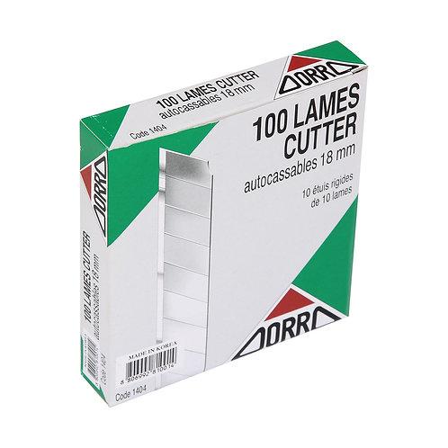 ORRO Geniş Maket Bıçağı Ucu 7 Kırım 100'lü Paket