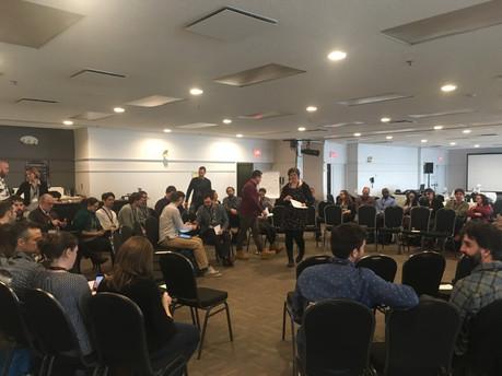 Design et facilitation d'une journée de colloque participatif sur l'érosion côtière