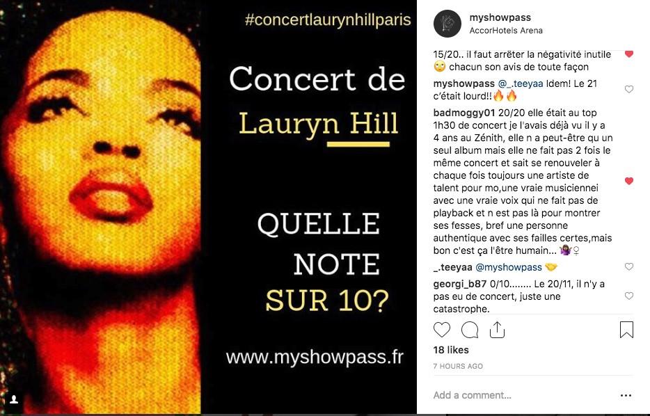 MyShowPass Lauryn Hill