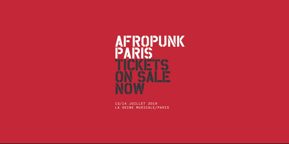Jeu Concours AfroPunk