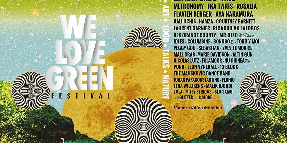 We Love Green 2019 - Samedi - Billets