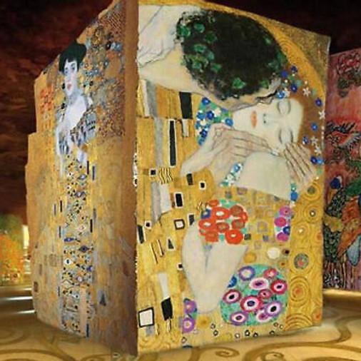 Gustav Klimt à l'Atelier des Lumières
