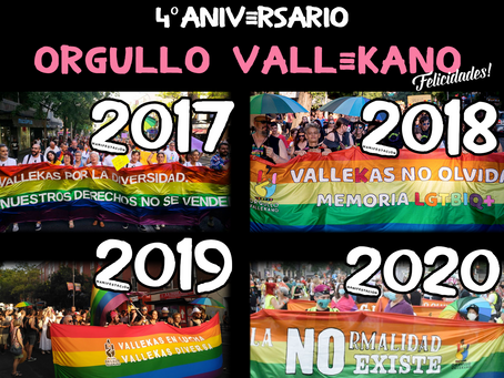Orgullo Vallekano, 4 Años dando guerra en Vallekas, en 2021 más y mejor!