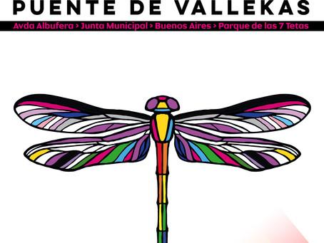 Cartel Manifestación Orgullo Vallekano 2021