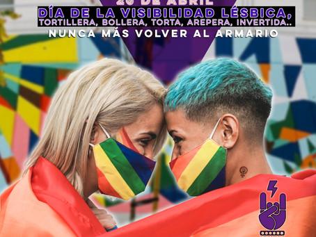 26 de abril: Día de la Visibilidad Lésbica