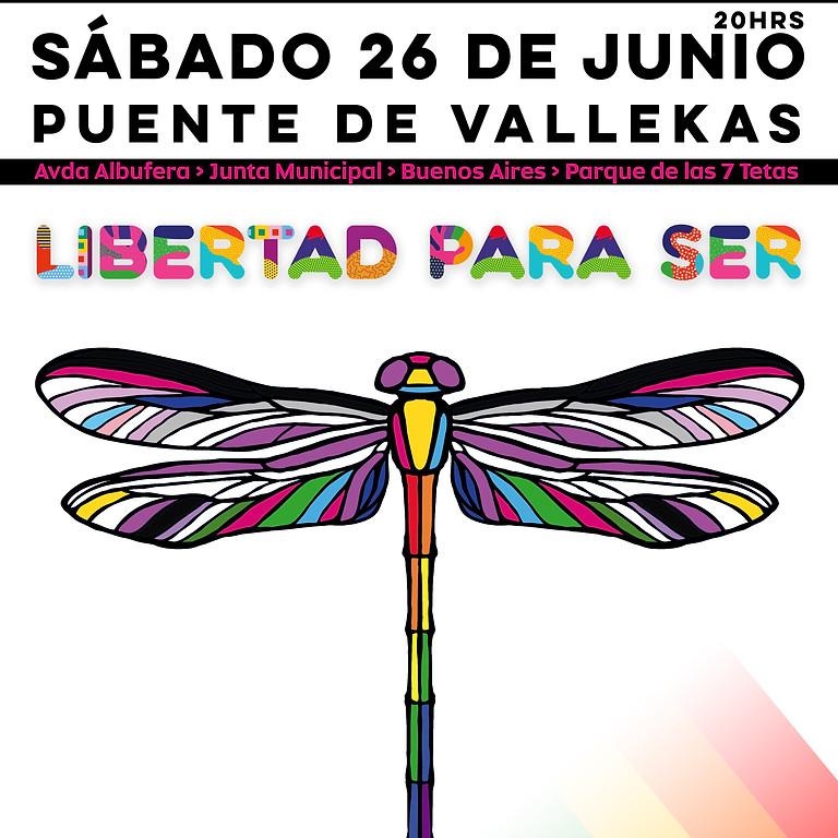 Manifestación Orgullo Vallekano 2021
