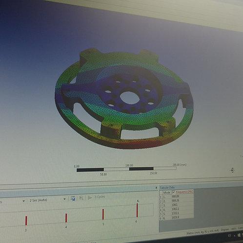 Alivianado de volante CNC