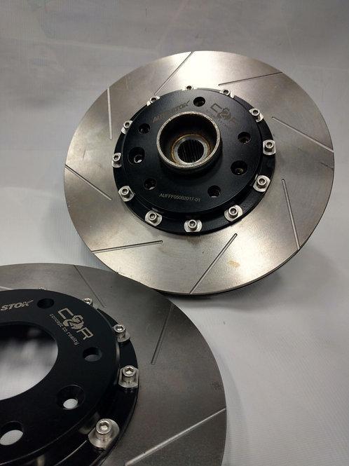 Conversion a discos de freno flotantes para Logan