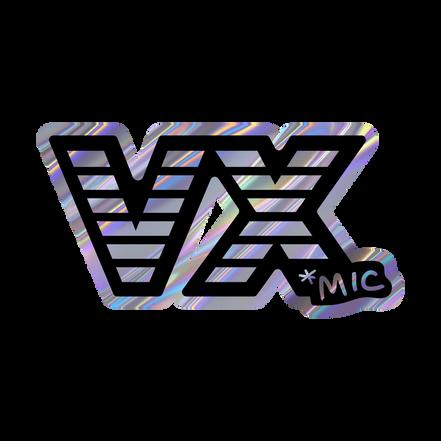 VX mic Sticker