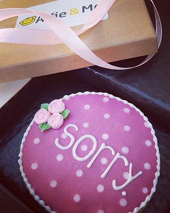 Sweetest Apology