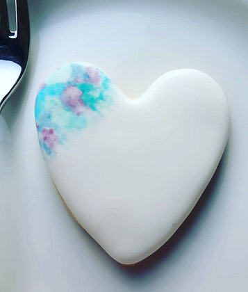 Wedding Favours - Watercolour Heart