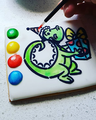 Paint Your Own Biscuit! (min order of 2) - 17 designs to choose from