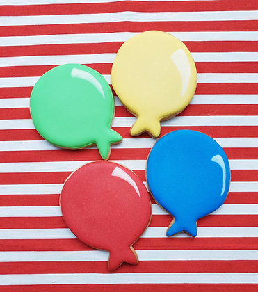 Bright Balloons (set of 4)