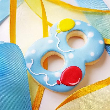Birthday Number Balloons