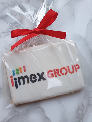 IMEX custom logo biscuit/s - APRIL