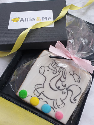 Single Paint Your Own Biscuit in Giftbox - 17+ designs to choose from