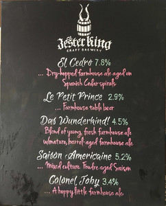 Wedding Board - Craft Beers!