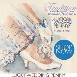 The Lucky Wedding Penny