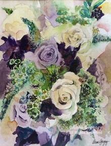 Anniversary - Mom's Purple Bouquet