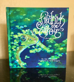 Fredrick the Frog Childrens Picture Book
