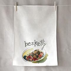 """Tea Towel - """"Besketty"""""""