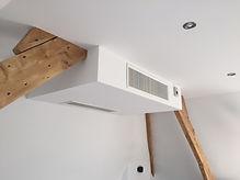 climatisation gainable intégré