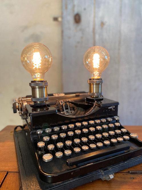 Lampe Machine à écrire