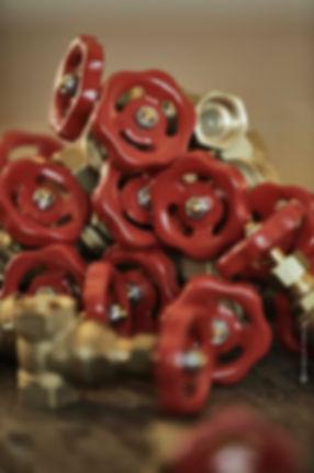 robinets rouge de Monsieur Fabrique