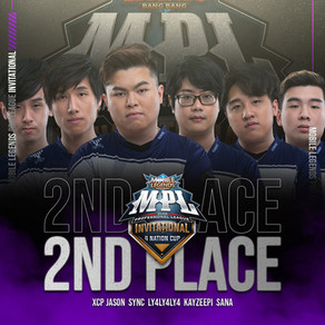 Resurgence clinches 1st Runner Up in MPL Invitational 4 Nation Cup