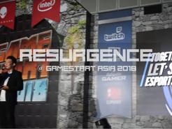 RESURGENCE AT GAMESTART 2018