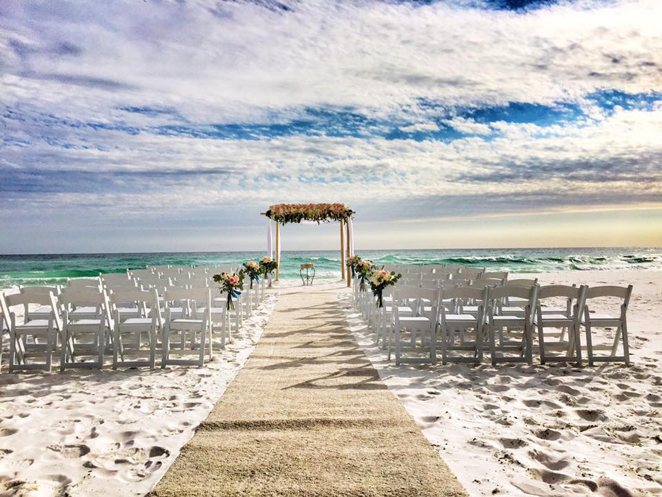 850 Beach Ceremony