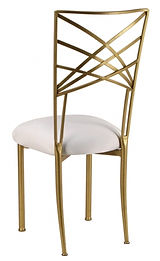 Gold+Chameleon+Chair+with+white+cushion+