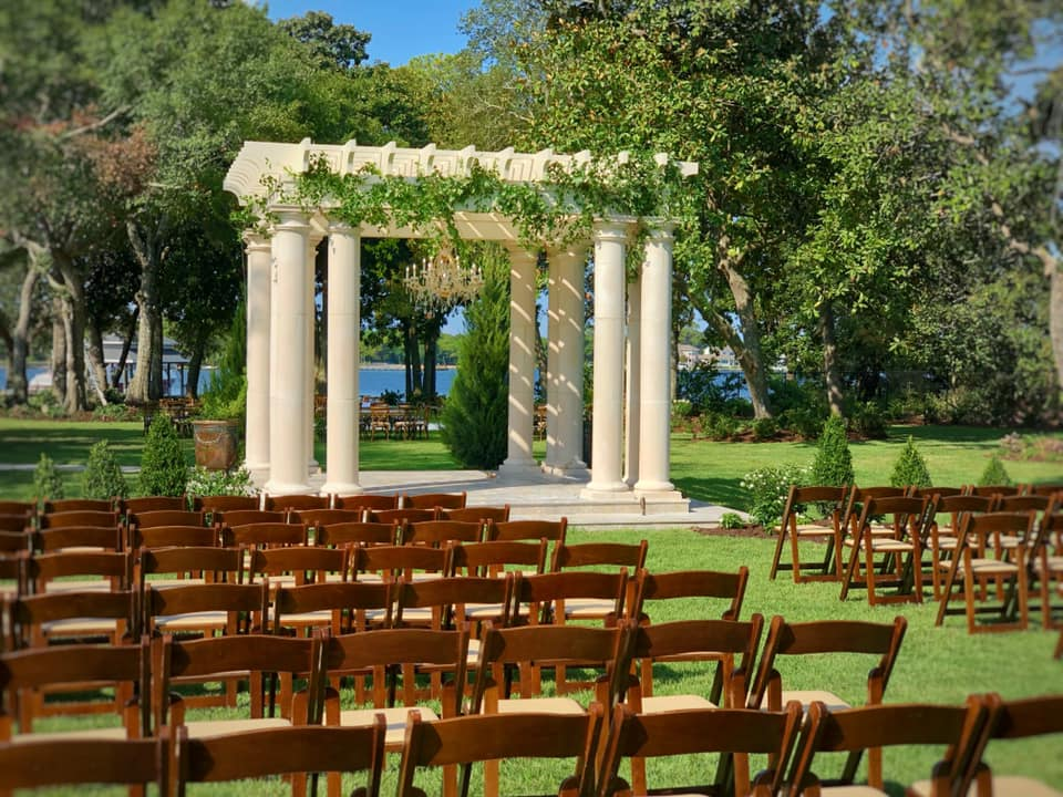 Mansion Wedding Ceremony
