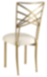 Gold+Chameleon+Chair+with+ivory+cushion+