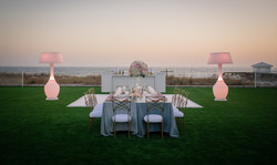 Lawn set up at The Island-