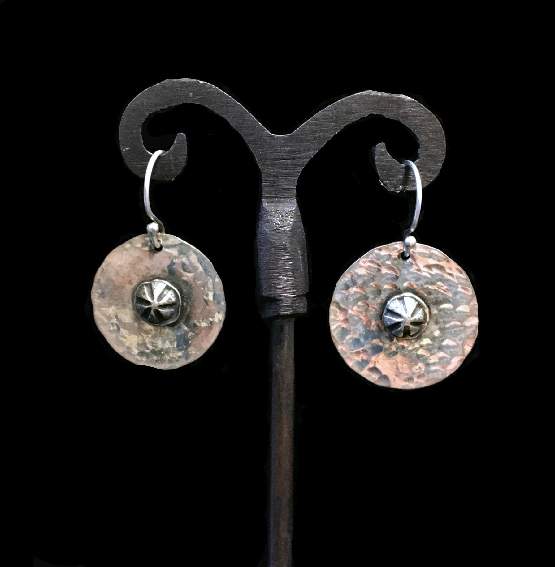 Simple Round Earrings