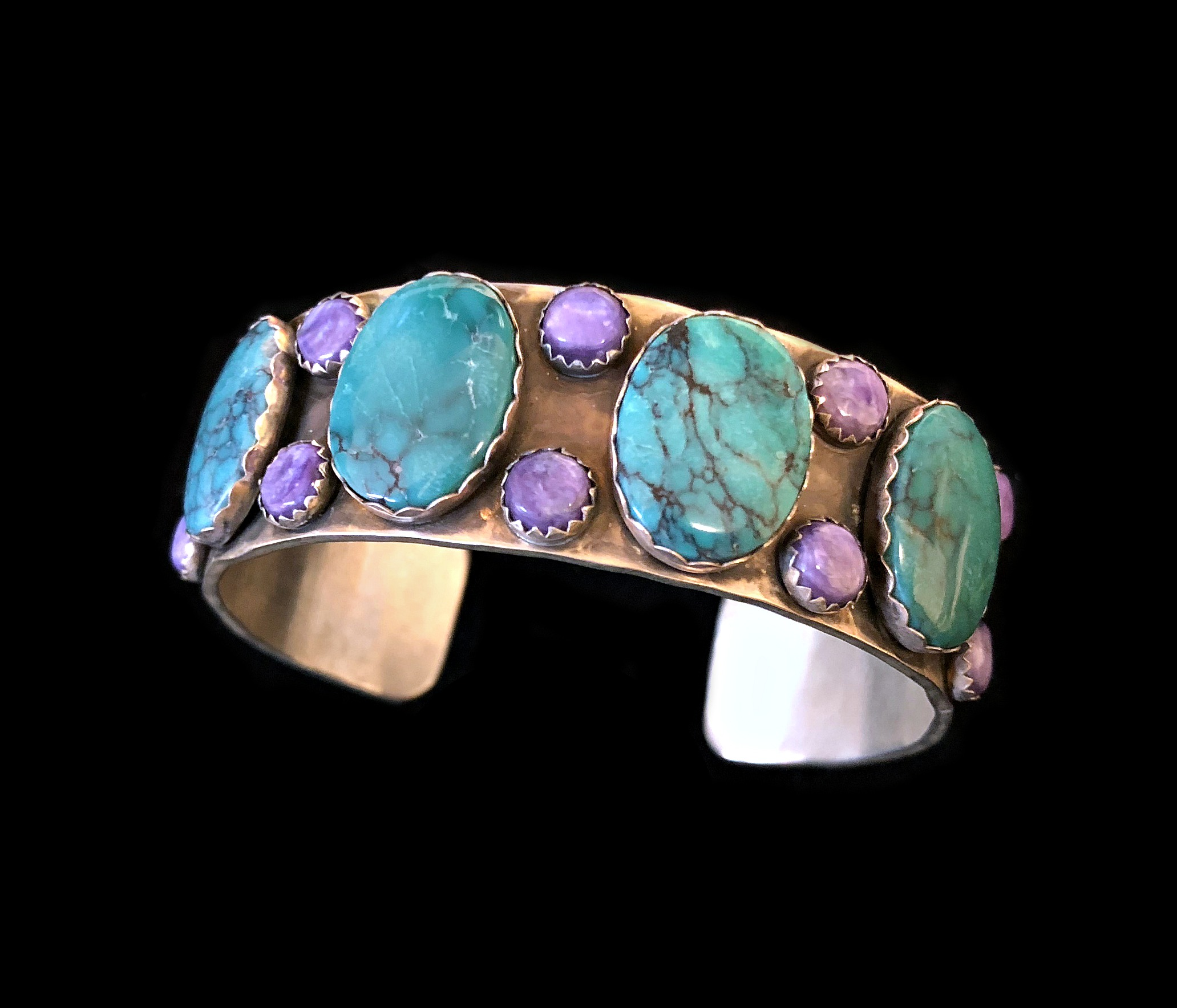 Turquoise and Charoite