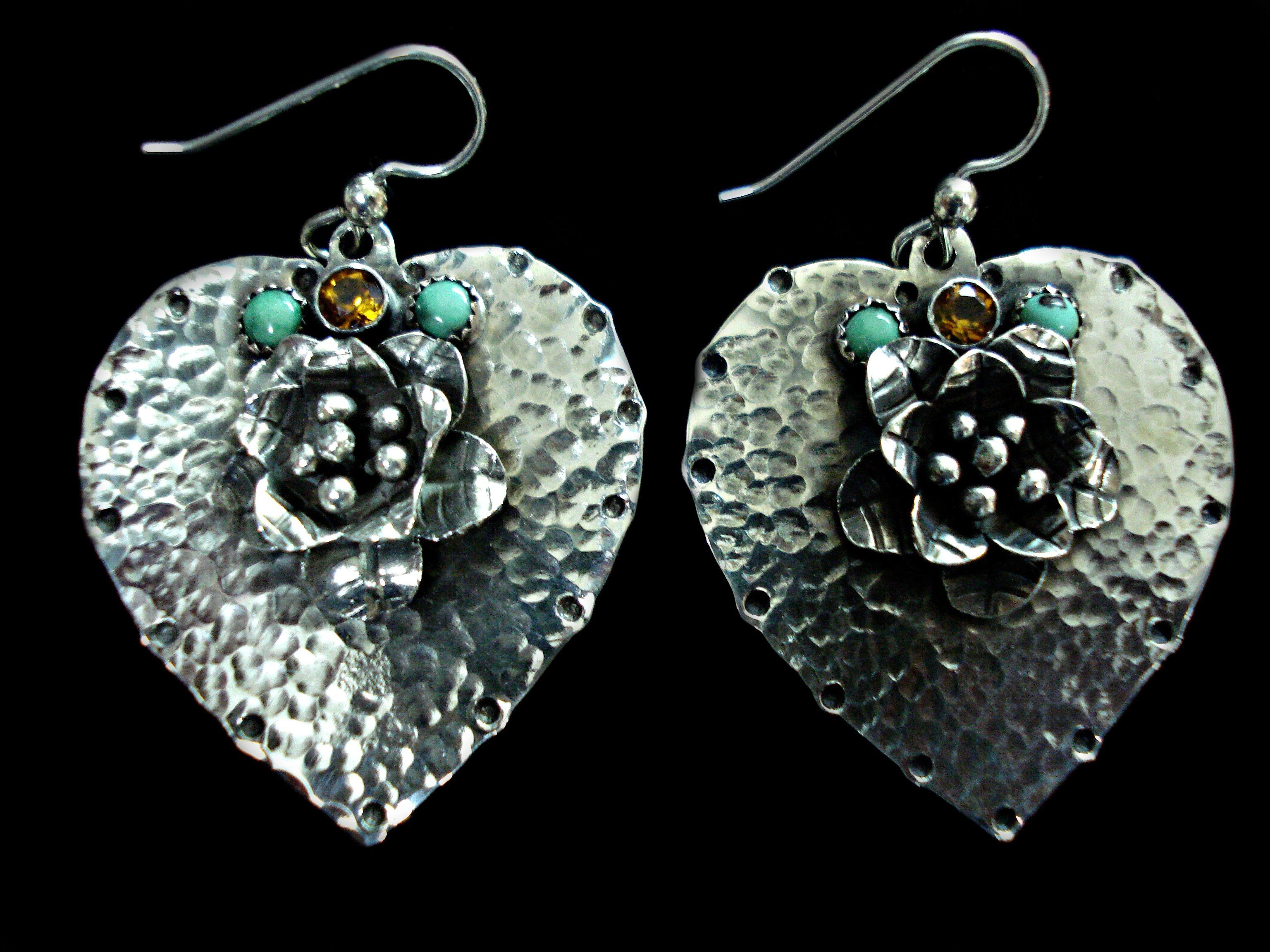 Hearts in Bloom Earrings